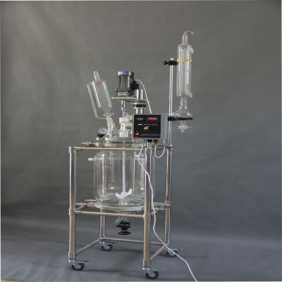 XYF20双层玻璃反应釜